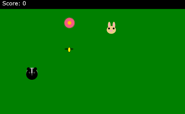 Screenshot of the game Honey Beebop.